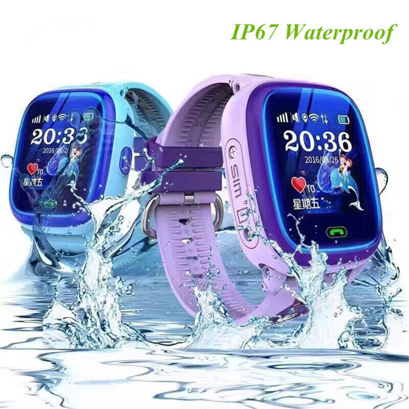 Waterproof-DF25-Children-Swim-touch-phone-smart-baby-watch-SOS-Call-Location-Device-Tracker-Kids-Safe